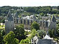Fr Josselin View of castle from top.JPG
