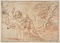 Framed Sketch for a Man, a Dog and a Tree MET DP810703.jpg
