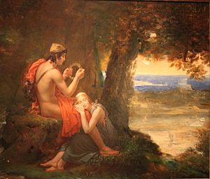 1824 in art - Image: François Gérard Daphnis and Chloe