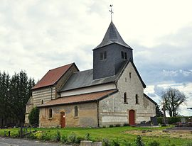 St. Nicholas' Church in Daucourt