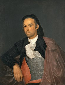 Francisco de Goya - Portrait of the Matador Pedro Romero - Google Art Project.jpg