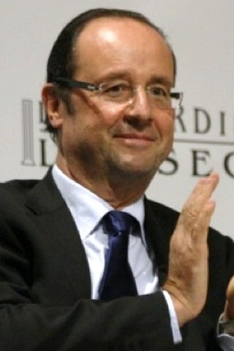French Socialist Party presidential primary, 2011 - Image: Francois Hollande Mardis de l'ESSEC zoom