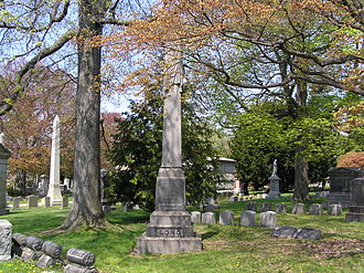 Frank Belknap Long - The grave of Frank Belknap Long in Woodlawn Cemetery.