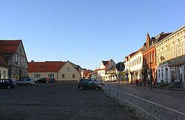 Franzburg Markt Ortsmitte