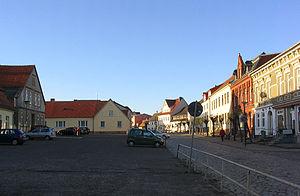 Franzburg - Town center
