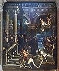 Frari (Venice) nave right - St.Antony Altar - Miracle of St. Antony by F.Rosa.jpg