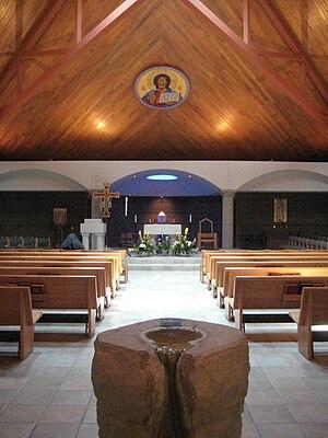 Bishop McGuinness Catholic High School (Oklahoma) - Frassati Chapel