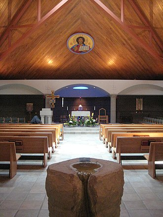Bishop McGuinness Catholic High School (Oklahoma) - Frassati Chapel