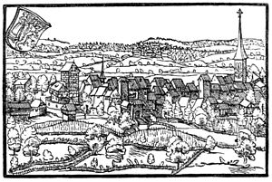 Frauenfeld - Frauenfeld in 1548