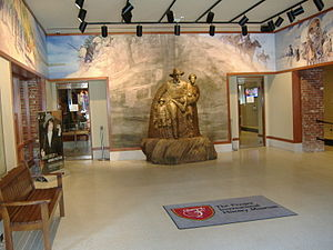 Frazier History Museum - Lobby of the museum
