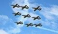 Frecce Tricolori RIAT 2011 formation.jpg
