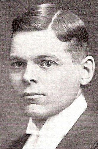 Fred McBrien - Fred McBrien while attending Osgoode Hall law school circa 1914.