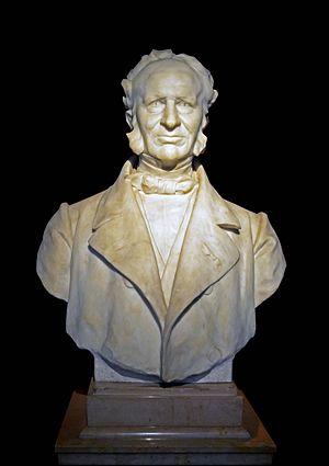Frédéric Cailliaud - Bust of Frederic Cailliaud