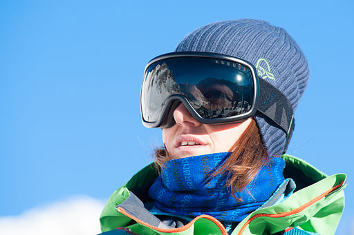 Freeride World Tour 2014 Chamonix - Christine Hargin