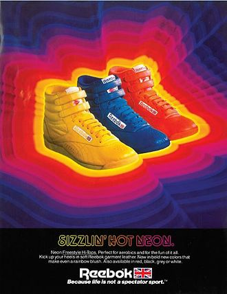 Reebok Freestyle - Freestyle Hi in 1985