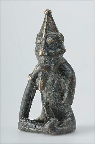 Freyr - Believed to depict Freyr, viking age.