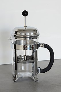 French press Coffee brewing device