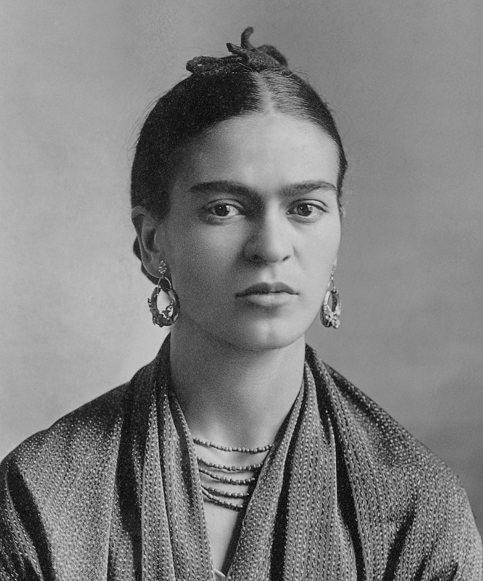 Frida Kahlo, by Guillermo Kahlo (cropped)
