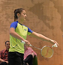 Friendly match Australia and Indonesia 2016 - Gronya Somerville (cropped).jpg