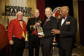From left, the Commandant of the Marine Corps League, Jim Tuohy; the 35th Commandant of the Marine Corps, Gen. James F. Amos; retired Lt. Col. Tim Maxwell; and the Master of Ceremonies, retired Lt. Gen. Ronald 130925-M-LU710-385.jpg