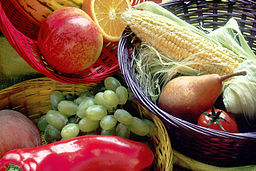 Fruit and vegetables basket