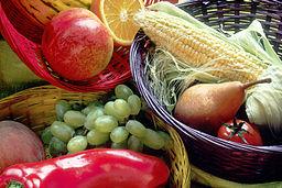 Fruit and vegetables basket