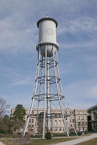 American and Canadian Water Landmark - Image: Full Marston Water Tower