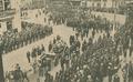 Funeral de António Maria Baptista, o cortejo fúnebre entrando na Avenida da Liberdade - Ilustração Portugueza (21Jun1920).png