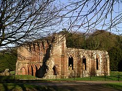 Die Ruine von Furness Abbey