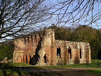 Furness Abbey - The ruins of Furness Abbey's former infirmary