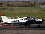 G-BASJ Piper Cherokee 28 (30896994756).jpg
