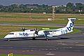 G-FLBB Dash 8Q-402 FlyBe DUS 27JUN11 (5884347186).jpg