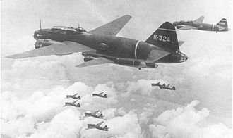 "Sinking of Prince of Wales and Repulse - Mitsubishi G4M Betty/""葉巻"" Hamaki (Cigar) bombers of Kanoya Air Group"