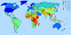 GDP nominal per capita world map IMF figures for year 2006.png