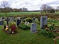 GOC Watton-at-Stone 033 Gravestones in St Peter's Church, Tewin (27521074826).jpg