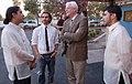 Gabe Quesada, Victor Sanchez, Congressman George Miller and PJ Quesada (6277486254).jpg