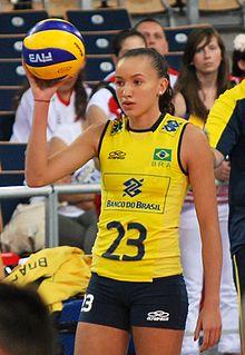 Gabriela Guimarães Brazilian volleyball player