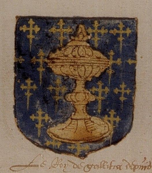 Galicia escudo- Universeel wapenboek - cruces