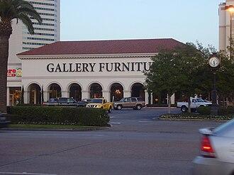 Jim McIngvale - Gallery Furniture store in Uptown