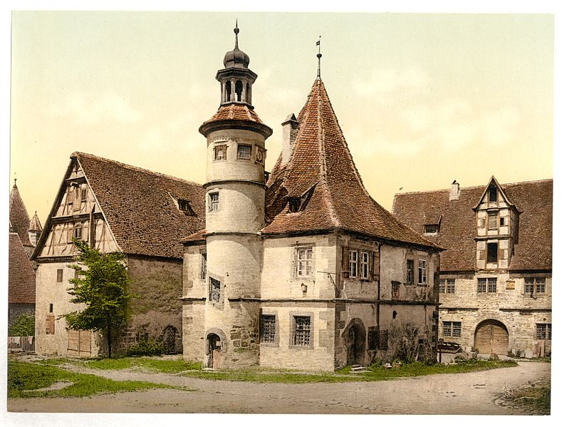 File:Gamekeepers house (i.e.Hegereiterhaus), Rothenburg (i.e. ob der Tauber), Bavaria, Germany-LCCN2002696186.jpg