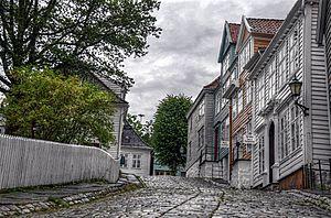 Bergen City Museum - Image: Gamle Bergen 2009 HDR