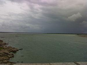 Osman Sagar - View of Lake