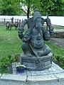 Ganesha statue in ZOO Chleby.jpg