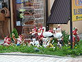 Garden gnomes and other garden kitsch.JPG