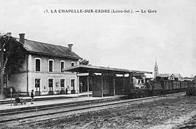 gare de la chapelle sur erdre wikip dia. Black Bedroom Furniture Sets. Home Design Ideas