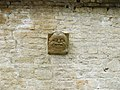 Gargoyle at Coberley Mill - geograph.org.uk - 1512737.jpg