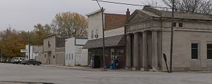 Garland, Nebraska - Downtown Garland