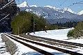 Garmisch-Partenkirchen, Abzweigung Zugspitzbahntrasse, 1.jpeg