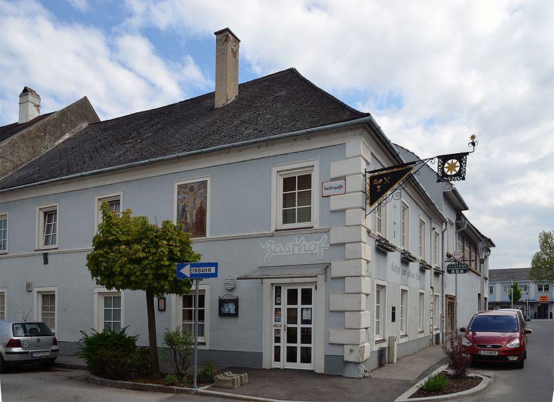 Hotel Zum Goldenen Lowen St Gor