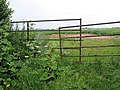 Gate across potato field Phocle Green - geograph.org.uk - 485762.jpg
